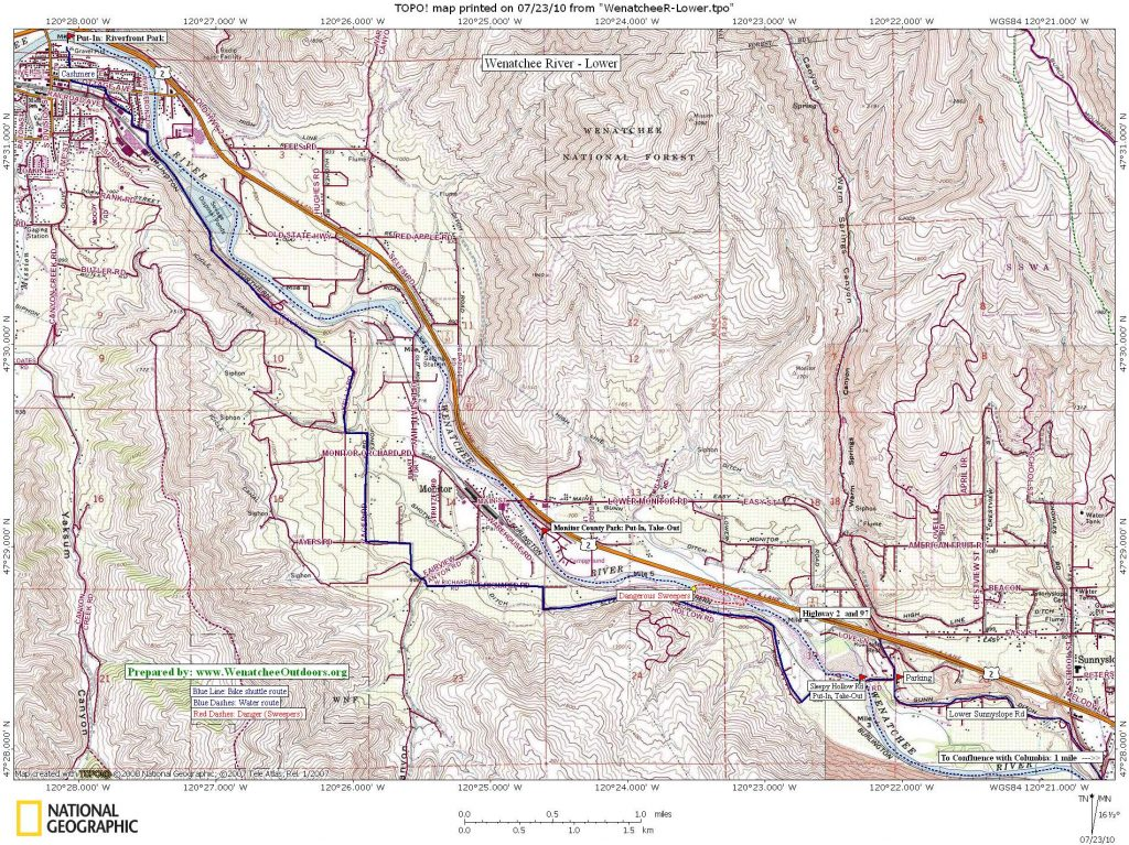 MAP 1: Lower River