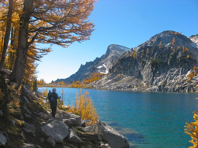 Colorful waterways in the Enchantments. Photo by Gaylord.