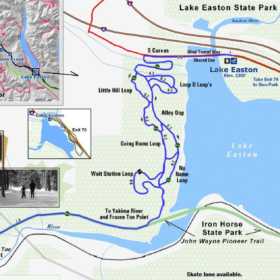 Snoqualmie Pass Nordic Options Wenatchee Outdoors