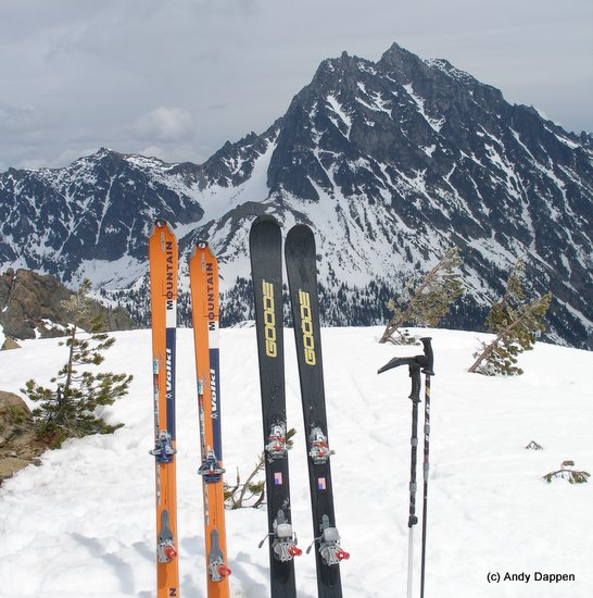 Backcountry skiing gear