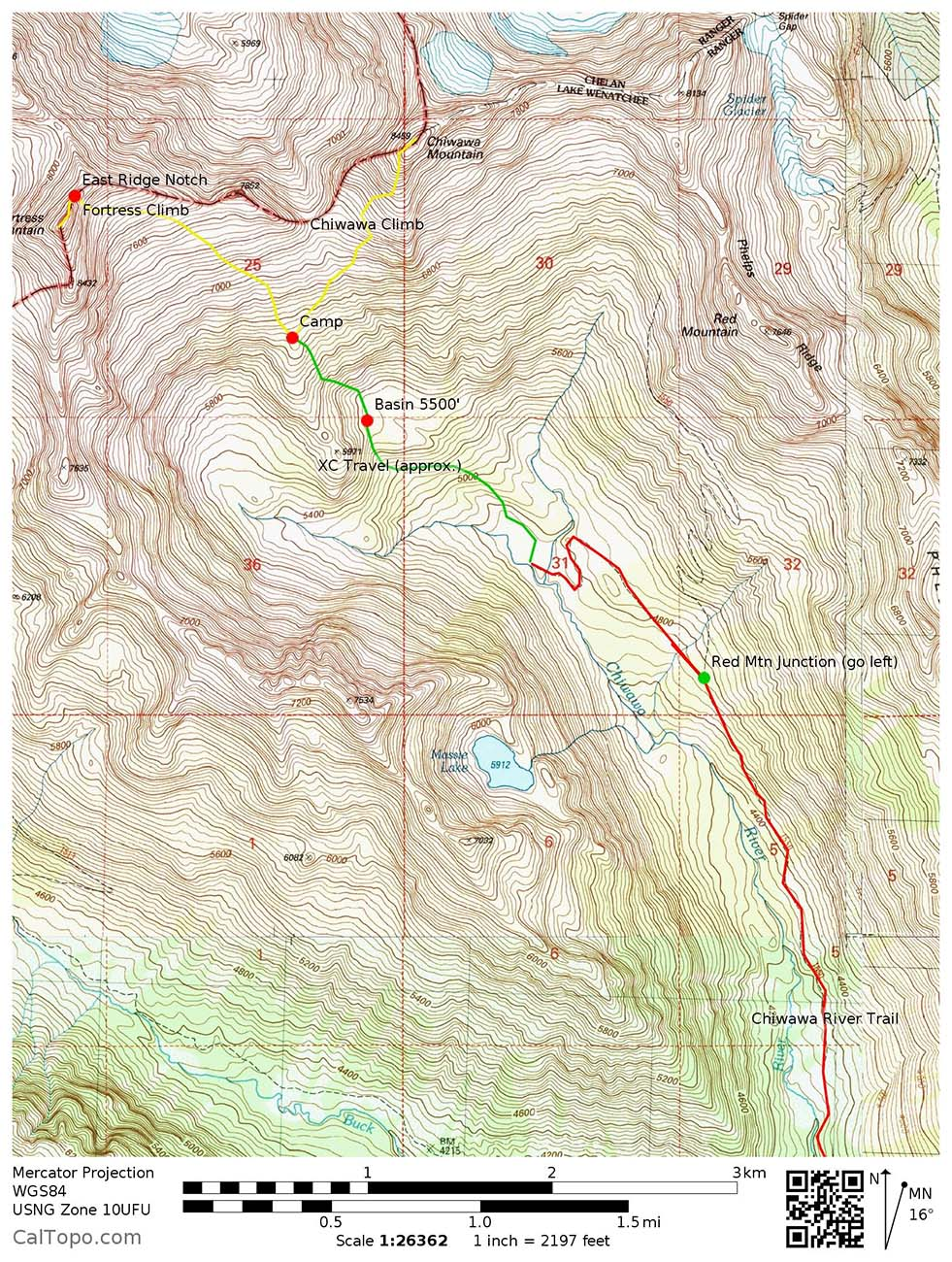 CalTopo – A How-to Guide | Wenatchee Outdoors on